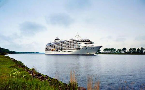 世界に1隻しかないマンション船「THE WORLD」
