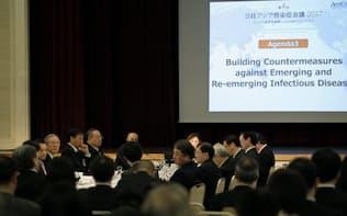 那覇市で3月3~4日に開かれた第4回日経アジア感染症会議