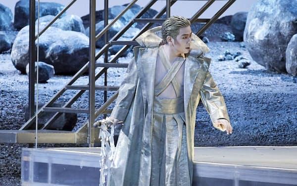 ライマンの歌劇「メデア」のヘロルド役でウィーン国立歌劇場デビューを飾った藤木大地(C)Wiener Staatsoper/Michael Poehn