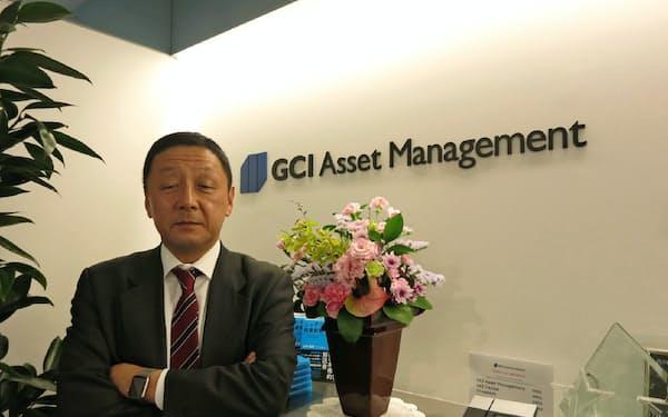 GCIアセット・マネジメントの山内英貴CEO