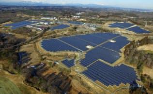 リニューアブルエナジー傘下の投資法人が保有する太陽光発電所