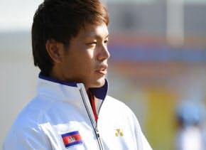 小学4年でソフトテニスを始め、高校で日本一に。異国の地で「貢献したい」と思うようになった
