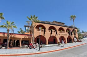 メキシコ西部の「ホテル・カリフォルニア」=ロイター
