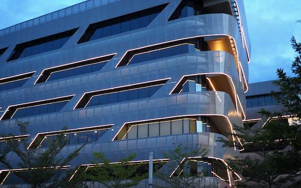 米アップルが入居予定のシナルマスのオフィスビル(バンテン州の「BSDシティ」)