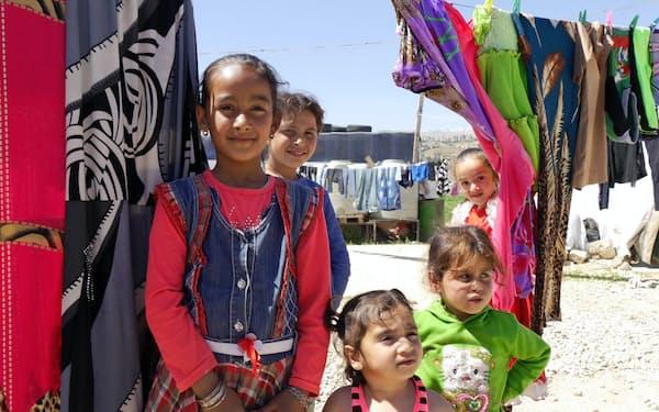 難民の間に反米感情が広がるおそれがある(レバノンの難民キャンプで暮らすシリア人の子供)