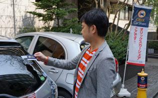 カーシェアはレンタカーのような対面の手続きが不要で、手軽に使えるのが人気