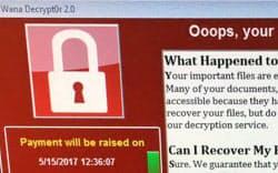英国では医療機関などでサイバー攻撃の被害が広がった=AP