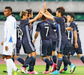 日本の出場は5大会ぶりとなる=共同