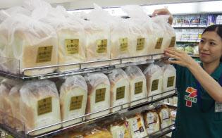 セブンイレブンは高級プライベートブランド「金の食パン」がヒット
