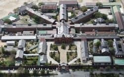 上空から見た旧奈良監獄