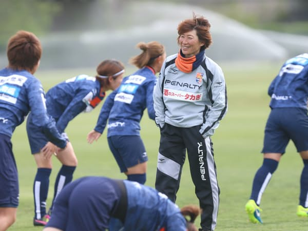 同世代で女子日本代表の高倉監督が選びたくなるような選手を育てたいと願う