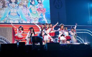 アニソンだけの音楽ライブ「あにゅパ!!」には約9000人が駆けつけた(5月13日、東京都渋谷区の国立代々木競技場第一体育館)