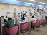 多くの職種で新規求人が増えている(石川県小松市のハローワーク)