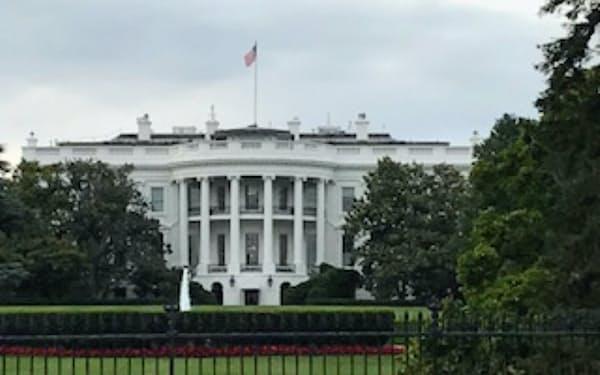 米特許商標庁のリー長官がひっそりとトランプ政権を去った(ワシントンのホワイトハウス)
