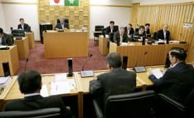 高知県大川村の和田知士村長が、「村総会」設置検討を正式に表明した村議会(12日午前)