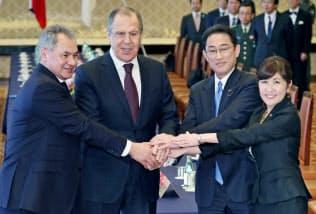 3月の日ロ2プラス2でロシア側はBMDへの強い懸念を表明した