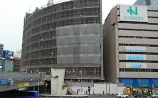 阪急阪神HDは大阪・梅田で再開発を進めている