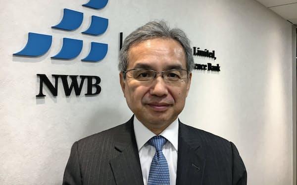 日本ウェルス銀行の中島努CEO
