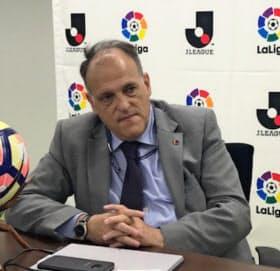 Javier Tebas 弁護士。クラブ経営を経て01年にラ・リーガ副会長、13年4月から現職。54歳