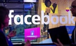 フェイスブックの月間利用者は20億人に達した(米カリフォルニア州サンノゼ市)=AP