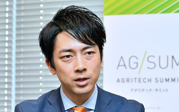 小泉進次郎 自民党農林部会長