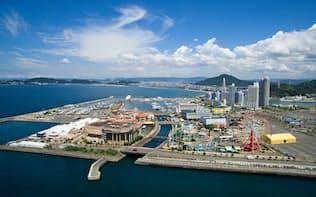 イントランスが昨夏に一部を取得した人工島「和歌山マリーナシティ」(和歌山市)