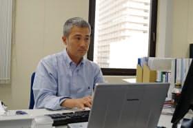 石崎はCAR-Tを使った固形がんの治療薬開発を目指す(東京・中央、本社)