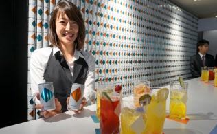 大正製薬はドリンク剤ではなく、エナジードリンクの飲み方を提案した(東京・渋谷)