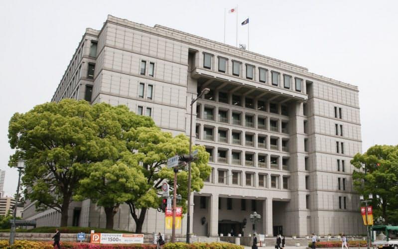大阪市役所(大阪市北区)