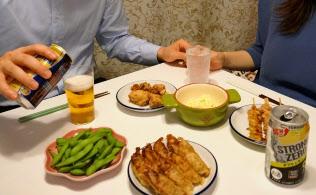 家族がそれぞれ好きなお酒や料理を楽しむ「おうちの居酒屋化」が進んでいる