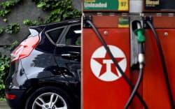 26日、英政府は2040年までに国内でのガソリン車・ディーゼル車の販売を全面的に禁止すると発表した=ロイター