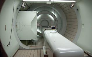 がんの陽子線治療の設備(筑波大学)