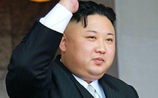 北朝鮮の核・ミサイルの脅威は新たな段階を迎えた=朝鮮中央通信撮影・共同