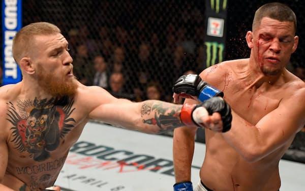 UFCは階級制を設けるなどしてスポーツ化を進めてきた=Zuffa LLC/ Getty Images提供