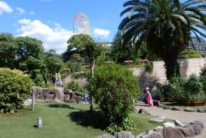 岡田さんが生まれ育った枚方市にある遊園地「ひらかたパーク」