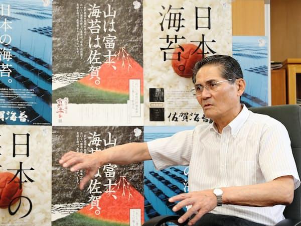 徳永重昭・有明海漁協組合長