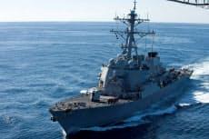 米駆逐艦のジョン・S・マケイン=ロイター