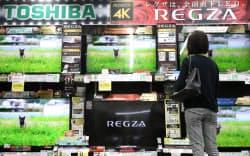 テレビ主体の東芝の映像事業は17年3月期は129億円の営業赤字