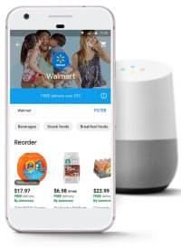 対話型AIを搭載したグーグルのスマートフォンとスピーカー