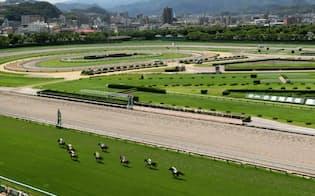 のどかな雰囲気が楽しい夏競馬だが、開催の費用対効果は悪い(北九州市の小倉競馬場)
