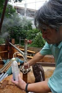 「銀泉」には炭酸ガスが多い(神戸市)
