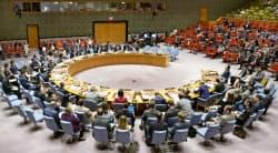 国連安保理の緊急会合(ニューヨーク)=共同