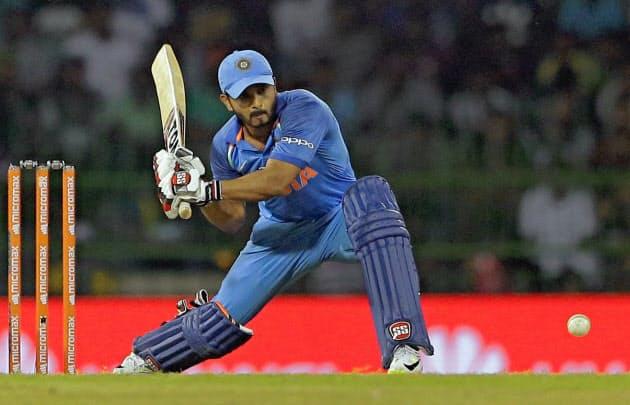 インドでクリケットは大人気スポーツ=AP