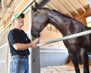 「引退馬が生きがいを持てるよう、支援の輪を広げたい」と意気込む