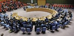 国連安全保障理事会は11日に北朝鮮制裁決議案を採決する=AP