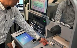 ATMで投資信託の申し込みなど多機能化を進める(東京都港区のOKI)
