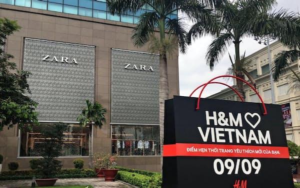 ザラが入居する商業ビルにH&Mも出店する(ホーチミン市)