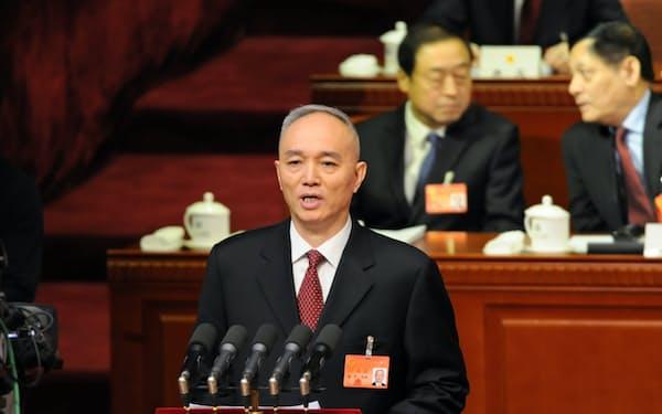 北京市トップの蔡奇・同市党委書記