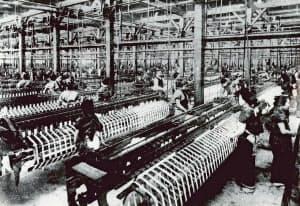 鐘淵紡績の兵庫工場(明治後期)
