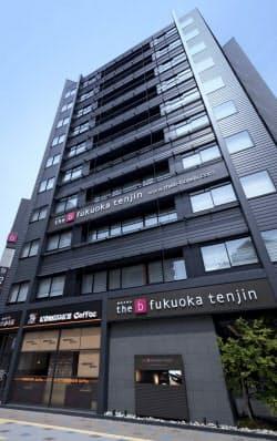 「キャンセル」での宿泊予約の売買事例があるホテルザ・ビー(福岡市)